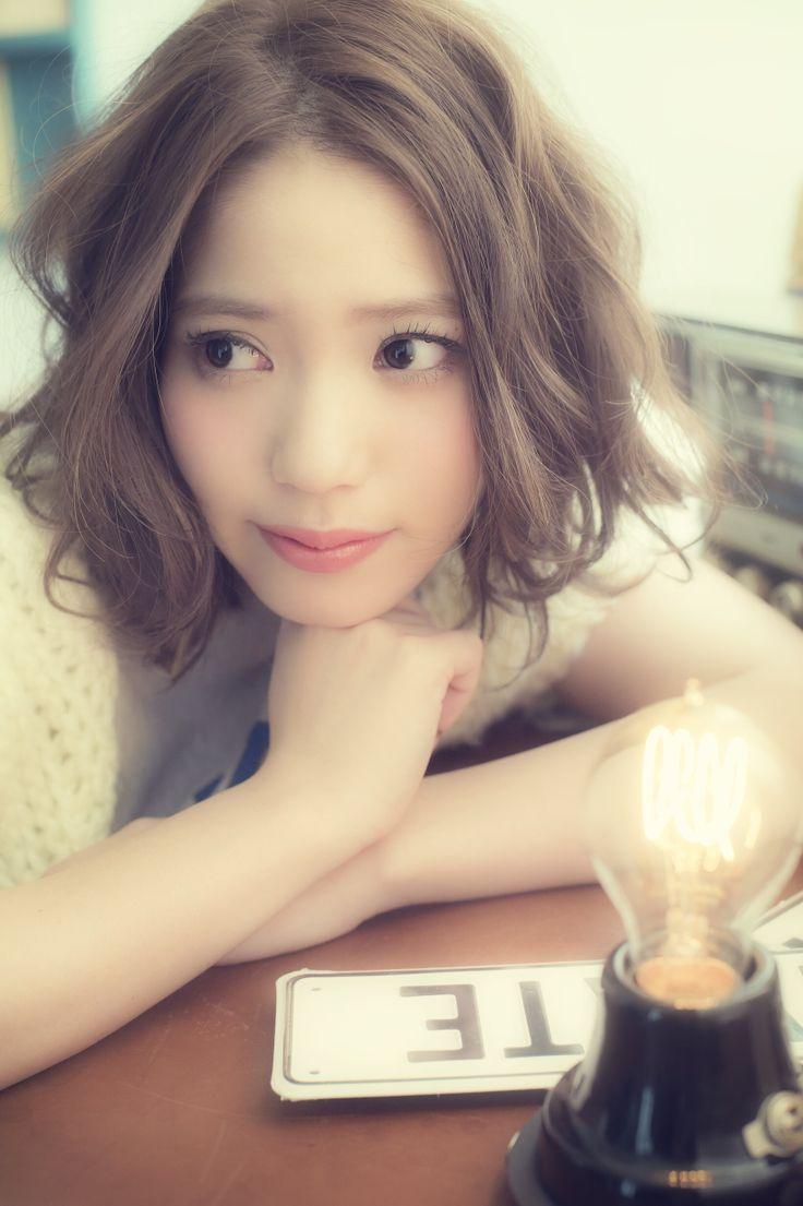 野口由香(ELLEestBELLE) #hair #hairstyle #girl #harajuku #tokyo #bobhair