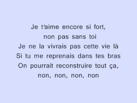 Lara Fabian - Pas Sans Toi - YouTube