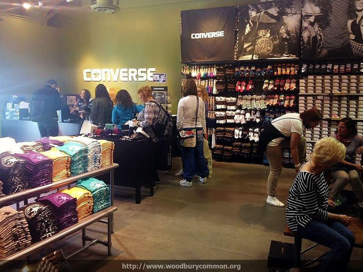 The Converse Outlet Store in Woodbury Outlet Center not only offers that popular All Star shoe, it offers the latest in Converse clothing, sports accessories, and other shoe designs at significantly discounted prices