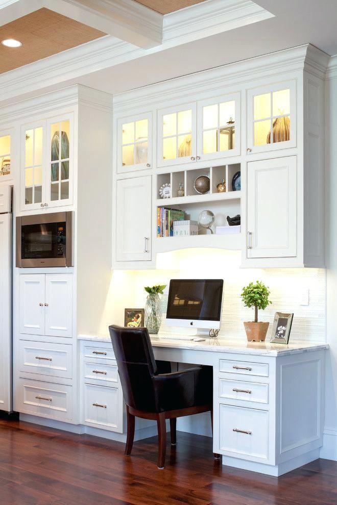 kitchen cabinet desk units lovable computer cabinets for ...