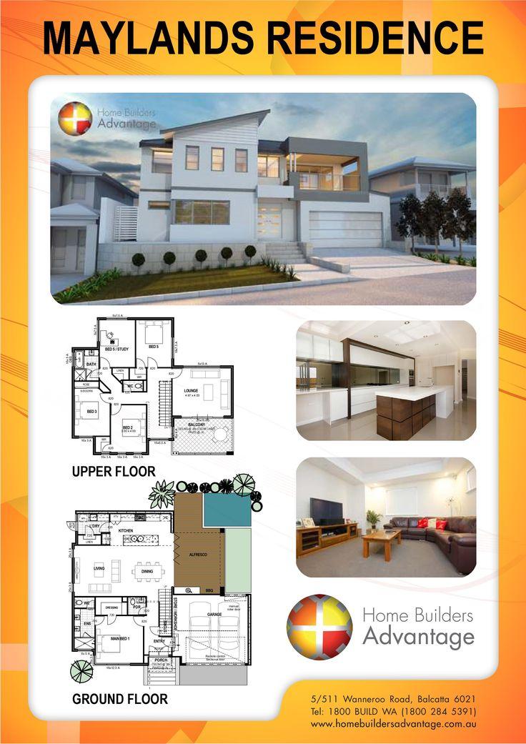 16 best home builders advantage double storey home for Builders advantage