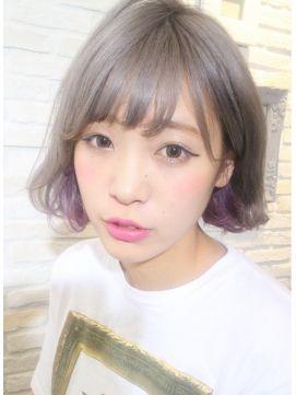 2016冬→春|黒髪・ダークトーンにインナーカラーをプラス♡ | 美人部
