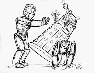 Cyber-bullying is not okay (if you don't watch Doctor Who, you may want to now)! hahahhahahahaha   -   poor dalek!!