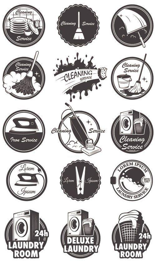 cleaning company logo ideas www.cheap-logo-design.co.uk # ...