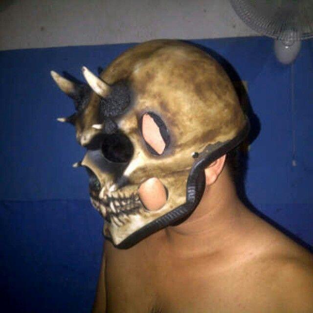 #Skullhelmet  More info www.doctorhelmet.com
