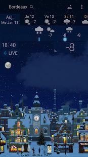 YoWindow, une météo précise– Vignette de la capture d'écran
