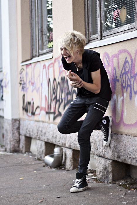 Lesbian Style Fashion Androgynous Oh The Style And Fashion Pinterest Androgynous Style