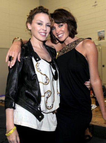 Kylie Minogue and Dannii Minogue.