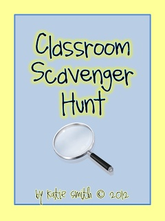 I Want to be a Super Teacher: Back to School Scavenger Hunt Freebie!!!