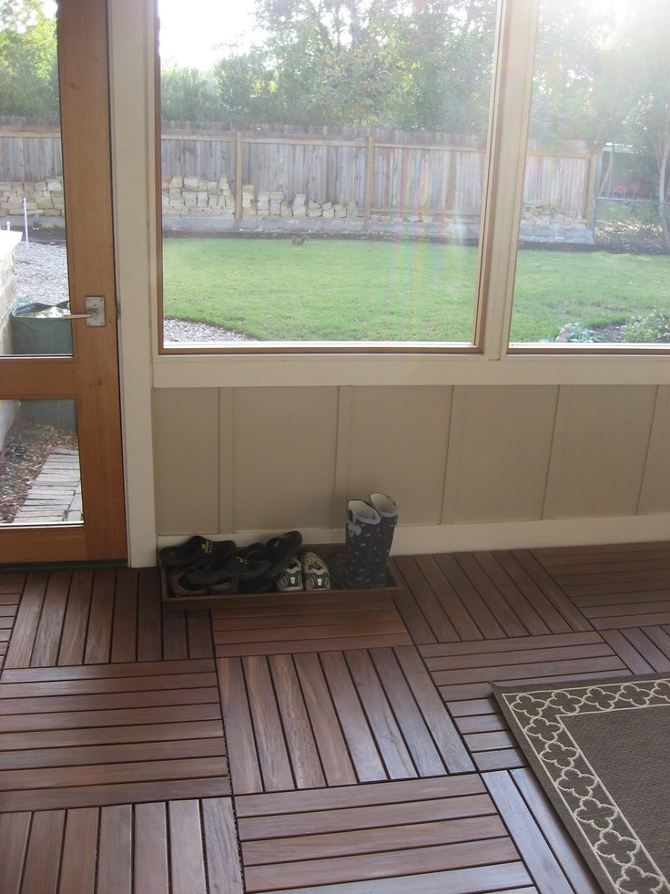 Indoor patio flooring options gurus floor for Indoor outdoor flooring options