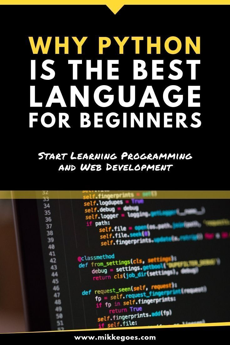5 Reasons Why Python Is A Great First Programming Language In 2020 Learn Programming Programming Languages Learn Web Development