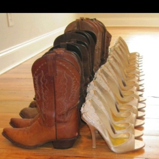 Wedding and reception or brides maid's and grooms men's shoesPictures Ideas, Photos Ideas, Cowboy Boots, Dreams, Country Weddings, Bridesmaid Shoes, Wedding Boots, Bridal Parties, Heels