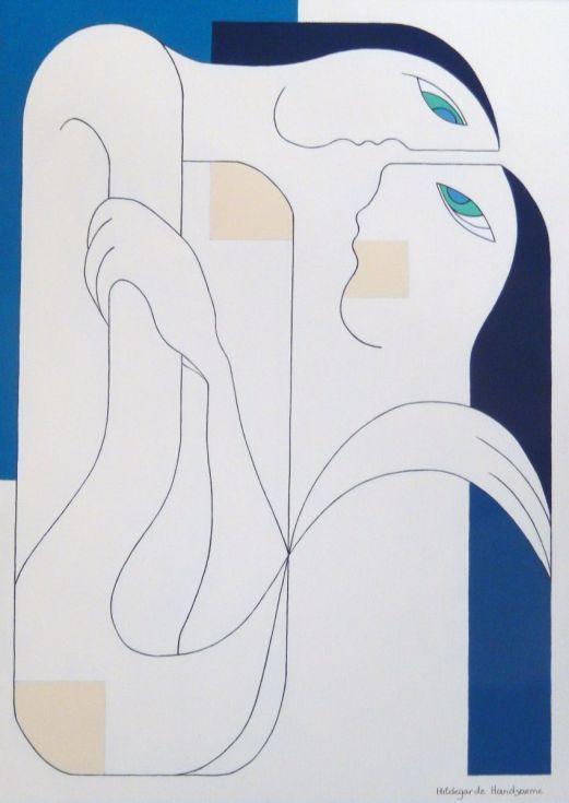 ARTFINDER: Groots Verlangen by Hildegarde Handsaeme - This work is in new condition.