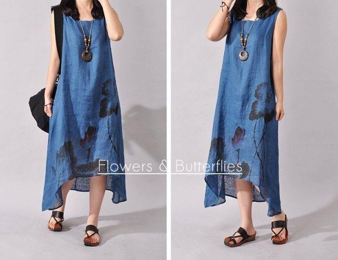 WORLDWIDE FREE SHIPPING Women Linen Dress 4 Colors 4 Sizes Plus Size Summer dress natural dress boho dress woman dress Lagenlook