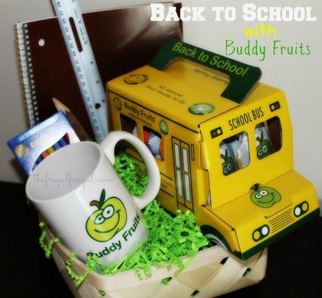 Back to School with Buddy Fruits (Giveaway + Sweepstakes!) #BuddyFruitsB2S