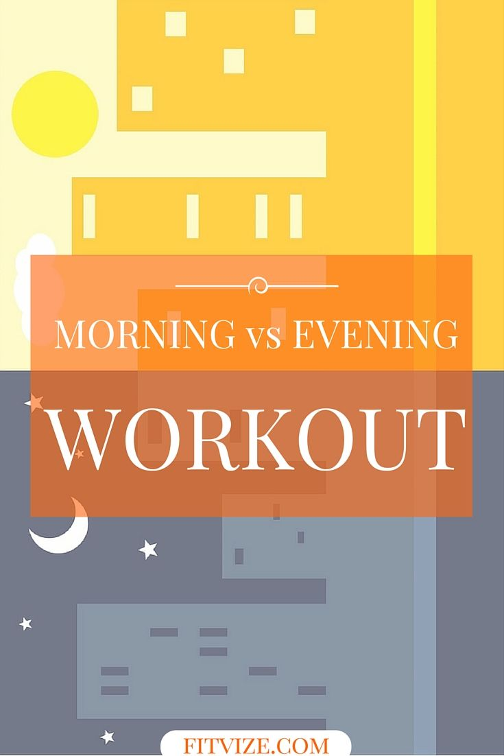 What is the best time of day to exercise? Is a morning workout better than an evening workout? What exercises can ease sleep transition? And – always interesting – where can you find motivation for an evening workout? Looking for sincere answers to all these questions? Well, look no further. https://fitvize.com/2016/06/30/heres-everything-you-need-to-know-about-evening-workouts/
