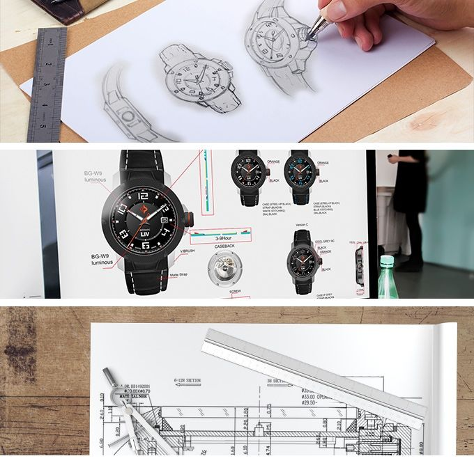 Redefining Swiss Automatic Watches by LIV by LIV - Swiss Watches — Kickstarter