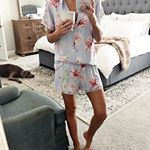 We are having a lazy Saturday morning over here My jammies are perfect for days like today So cute cozy Hope Your weekend is off to a great start The links for my bed rug are here httpliketkituLvl liketoknowit liketkit LTKhome LTKunder LTKstyletip masterbedroom nordstrom worldmarket pajamaset saturdaystyle