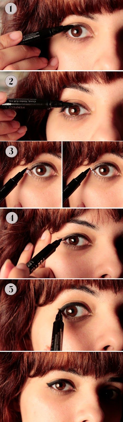 The Tiny Adventures of Kiri: How to Pull a Perfect Eyeline Flick {22 days}