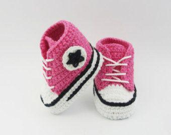 Scarpette per neonati all'uncinetto scarpe da di BUBUCrochet