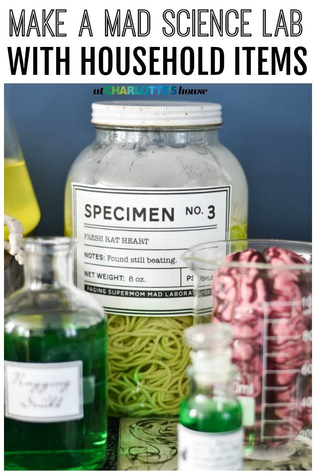 Halloween Artikelen.Make A Mad Science Lab With Household Items Episode 53
