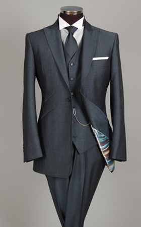 William Hunt via Hugh Harris (air force blue - matches morning suit)