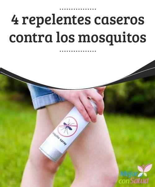 4 #repelentes caseros contra los #mosquitos  En época de calor hay más presencia de mosquitos, abejas y #prácticamente cualquier insecto volador. Esto no solo ocurreen los bosques, sino también en cualquier sitio donde haya mucha vegetación como árboles y arbustos. #HábitosSaludables