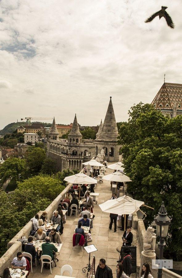 Fishermen's Bastion in Budapest Baszta Rybacka