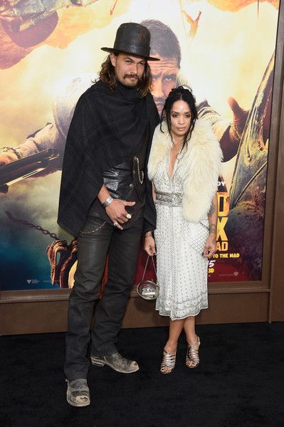 Jason Momoa & wife Lisa Bonet attend the  Premiere Of Warner Bros. Pictures' 'Mad Max: Fury Road'