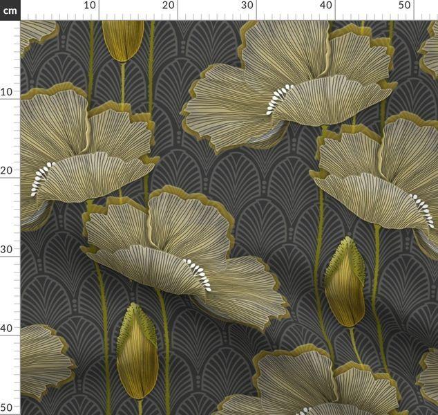 Farbenfrohe Stoffe digital gedruckt von Spoonflower in ...