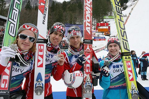 Johan Remen Evensen, Anders Bardal, Bjørn Einar Romøren & Anders Jacobsen