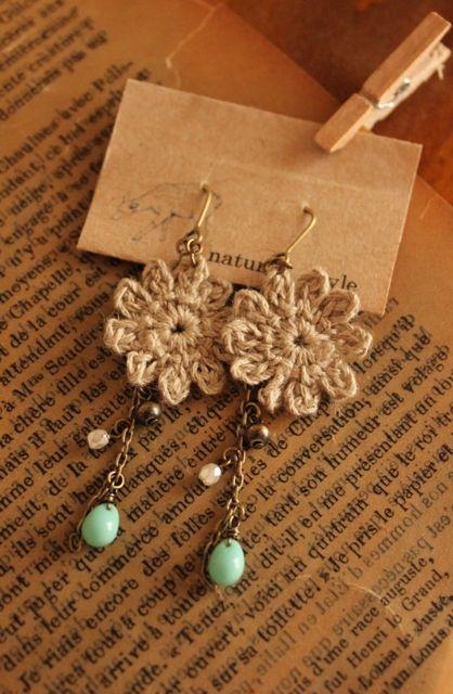 crochet earrings More More