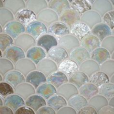 Perini Tiles Glass Tile Collection - Mermaid