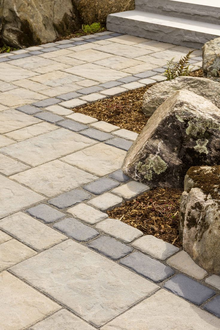 This walkway design idea is inspired by our Blu 60 Slate ...