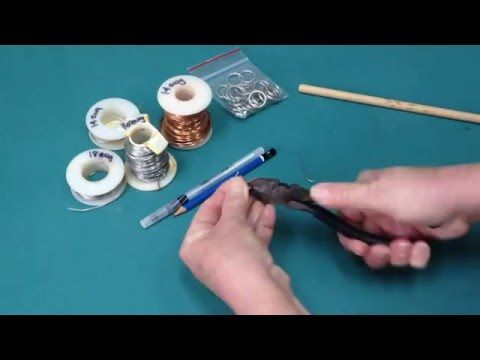 How to make your own hanging rings