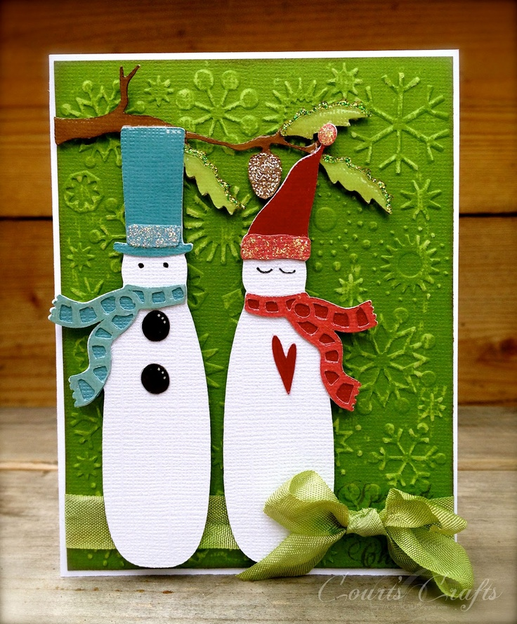 1000 images about cricut winter woodland on pinterest for Cute creative christmas cards