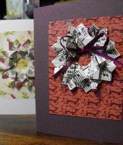 Tea Bag Christmas Wreath