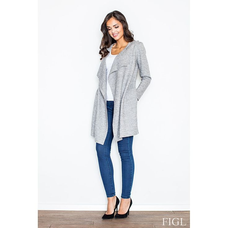 Now available on our store: Grey Jacket Check it out here! http://coco-glam-boutique.myshopify.com/products/jacket-3