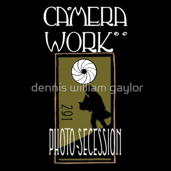 CAMERA WORK - 291 - Photo Secession - custom illustrated posters, prints, tees. Unique bespoke designs by dennis william gaylor .:: watersoluble ::.