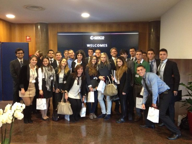 John Cabot Business Club at Geico s.p.a. in Milan, Italy 2013