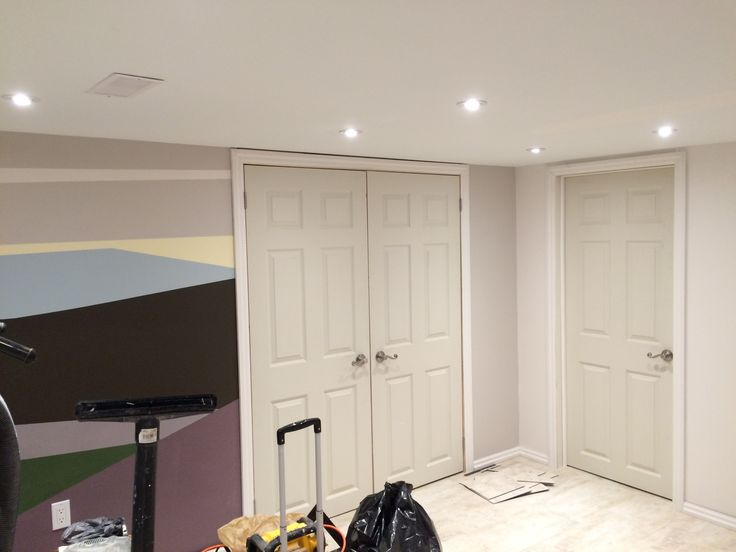 Doors and Trim are installed. Floors are finished.