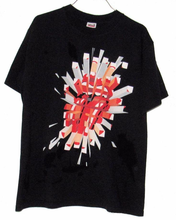 ROLLING STONES 2005 A BIGGER BANG Concert T-shirt Sz M Black