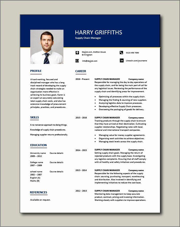Supply Chain Management Skills For Resume Printable Resume Template Teacher Resume Template Teacher Resume Template Free Manager Resume