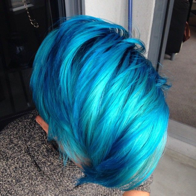"""Men Are Dyeing Their Hair Bright Colors for the New """"Merman Hair"""" Trend - My Modern Met"""