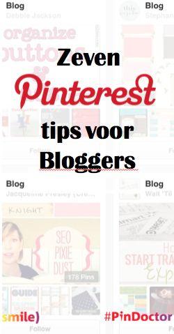 Pinterest tips voor bloggers