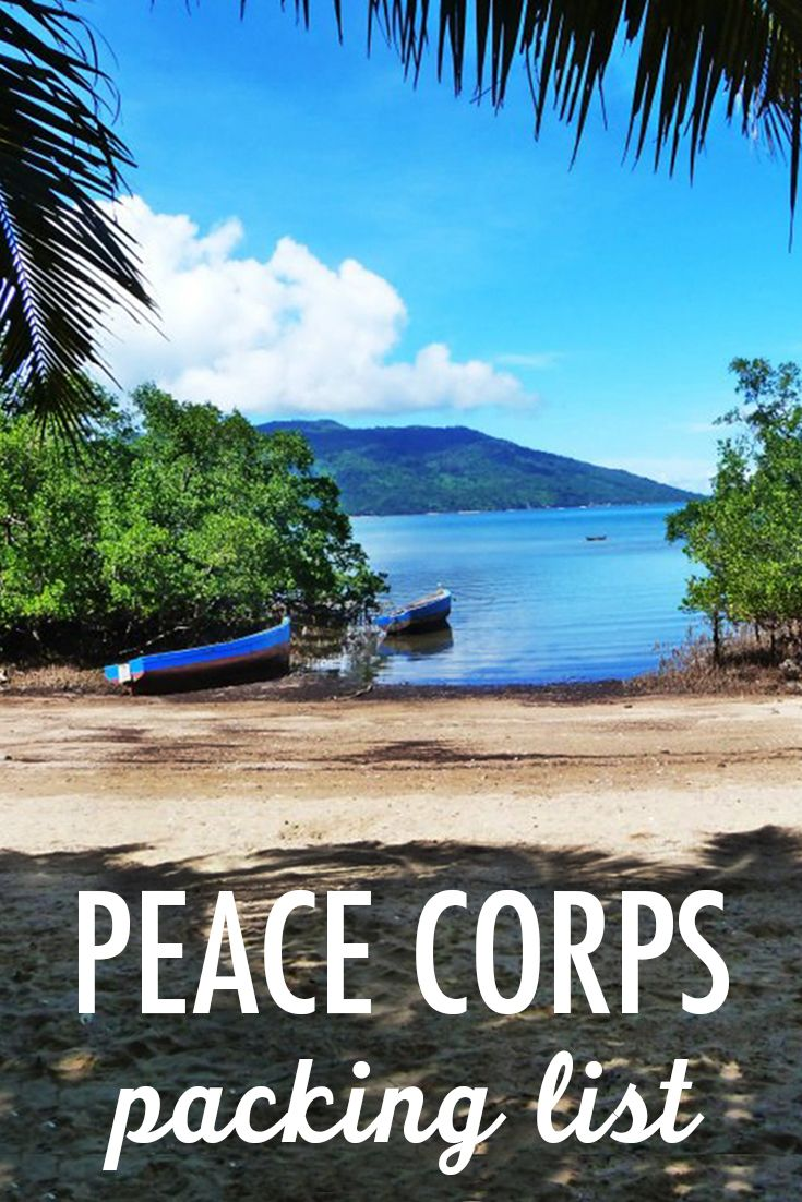 As an RPCV (Returned Peace Corps Volunteer) who's been through this already, I'm here to help you figure out how to fill those bags for 27 months in the Peace Corps.  Although I won't be able to tell you everything you'll need for your specific country of service, below are several fool proof tips and suggested packing lists to help you figure out what to bring to your Peace Corps service.