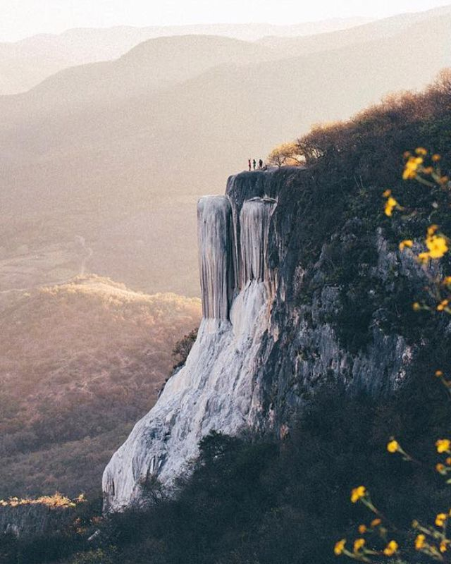 Stunning cliffsides in Oaxaca, Mexico. Courtesy of @LucyLaucht