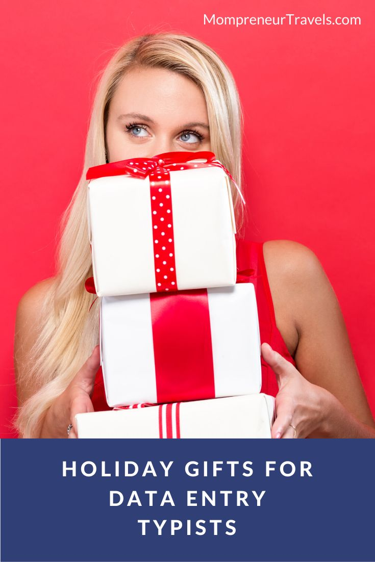 Holiday Gifts for Data Entry Typists from www ...