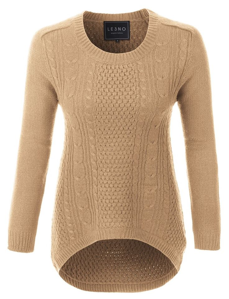 38 best WOMEN'S KNIT SWEATERS images on Pinterest | Athletic ...