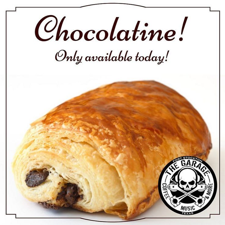 Today ONLY! Rich chocolaty croissants! Get one while they last!